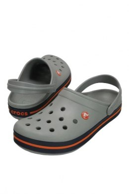 Crocs Crocband Light Grey Navy 11016 01U
