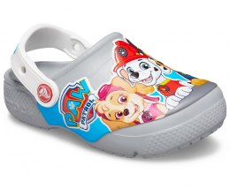 Crocs FUN LAB PAW PATROL CLOG KIDS 007 LIGHT GREY